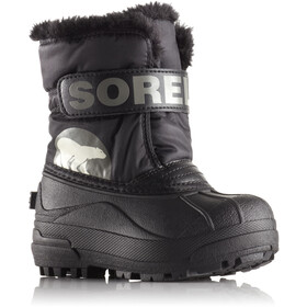 Sorel Snow Commander Boots Kinder black/charcoal